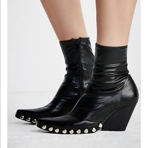 Jeffrey Campbell studded western boot